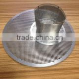 Etching Metal Disk Coffee Filter for Aeropress coffee maker