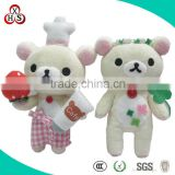 good price wholesale soft plush customed dancing valentine's day toy