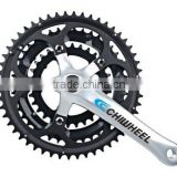 High quality standard aluminum Crankset for road bike from Chinese factory