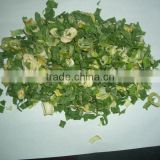 2014 new dried green onion granules for korea market
