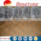 high quality galvanized chain link fencing/used chain link fence for sale/security fence