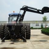 hot sail biggest huge type tractor PTO use hydraulic 180 degree swing back hoe back digger excavator Lw-12 with CE certification