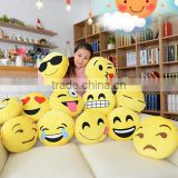 2015 promtion gift smiley emoticon custom printing decorative cute emoji cushion custom whatsapp plush pillow emoji