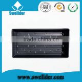 Swellder rectangular hydroponic trays for greenhouse