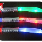 factory 29.5cm glow weapon toys plastic LED flashing sword