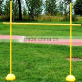 adjustable soccer/football/fitness/lacrosse training equipment agility pole hurdles