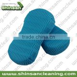 Good Quality microfiber mesh bug sponge/automotive wash sponge/microfiber cleaning car sponge