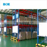 Factory price Warehouse storage steel metal pallet rack heavy duty racking blue and orange color for garment manufacture
