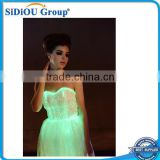 Led Light red and white girls ball gowns wedding dresses