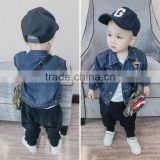 S17632A Children's Denim Jackets 2017 Boys Jeans Outerwear