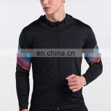 Men Running Jacket Shirt Sweaters Hoody Fitness Outdoor Sports Bodybuilding Training Gym Jogging Wear high compression clothing