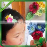 Baby Girls Hair Bows Kids flowery Hair Clips