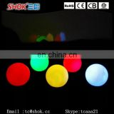 Color changing led snowball lights led moon light ball