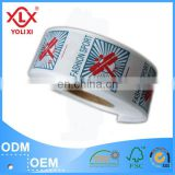Double side garment label printing roll