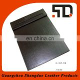 High Quality Writing Note Pad PU Leather Promotional Notepad