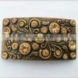 old flowers adjustable belt buckles wholesale