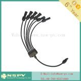 Solar PV cable assembly with MC3 and MC4 connector and with inline 1500VDC fuse