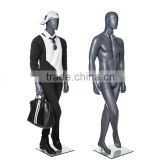 Full Body Fiber Glass Male Mannequin with abstract head sale