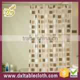 100% PVC shower curtain,polyester shower curtain fabric