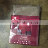 SOLID BAMBOO MADE IN CHINA TABLE CLOTH--TEXTURE IN POLYESTER