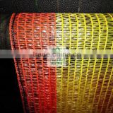 orange and red color construction warning safety net(Best Sell) in China