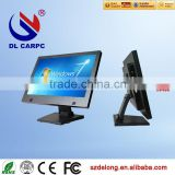 "New style composite heat dissipation 19"" touch screen kiosk tablet with H81MB,2.3GHz"
