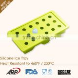 2016 wholesale FDA BPA Free silicone ice cube tray