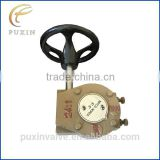 small speed transmission worm gear box gearbox