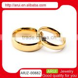 Top sale jewelry gold rings without stones jewelry gold jewelry latest gold finger ring designs