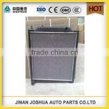 HOWO SINOTRUK spare parts radiator factory