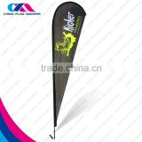 outdoor decoration promotion event show feather banner flag