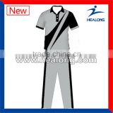 2015 Pro team quick dry sublimation print cricket set