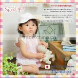 2016 new products Japanese wholesale high quality baby girl reversible hat kids wear infant garment children clothes toddler