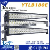Made In China 24v/12v double row 180w offroad led light bar truck ,accessories for 4x4 led lights bars