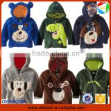 2015 New design fur child clothes cartoon animal winter coat children girls down coat wholesale winter coat (ulik-J002)