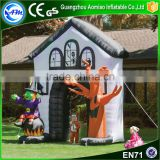 Giant inflatables haunted house arch inflatable halloween for sale