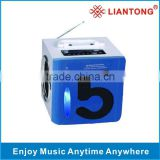 Mini Speaker RX-I5 blue support iphone, nokia, blackbarry, MP3,MP4,laptop,PSP,PC,Micro SD card