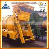 Electric and Automatic Construction Machine JZM350 Self Loading Mobile Cement Mixer