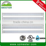 320w LED linear high bay UL linear high bay light with 0-10V dimmable motion sensor and emergency battery