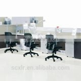 2015 office desk Office Partition 6 person workstation