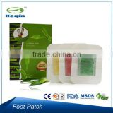 Box packing hot sale patches natural detox foot pads
