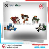 High quality Funny 2008 Beijing Olympic Mascots Furniture Decoration Tourist Souvenir Favorite Fridge Magnet Sticker