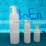 30ml 60ml 200ml foam pump plastic HDPE bottle with foam pump plastic cleansing foam pump bottle