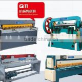 2015 Popular sold Bohai brand electric guillotine shearing machine,manual guillotine shear machine,