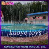 outdoor round steel frame pool,above ground stainless steel pools,prefabricated swimming pools
