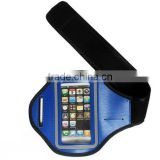 Wholesale custom sport armbag for running /comfortable sport gym armband with reflective border/logo printing
