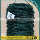 Guangzhou factory hot sale Electric Galvanized, Hot-dip zinc plating or PVC coated barbed wire