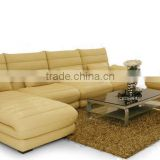 2013 European Design Sectional Corner Sofa, Full Aniline leather Sofa down filled sectional sofas 9079-17