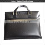 HOT!! Waterproof carbon fiber laptop briefcase , super light carbon fiber briefcase for business man