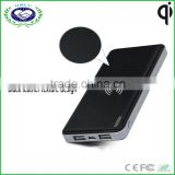 2 usb port QI wireless phone charger power bank for universal smart phone                                                                         Quality Choice